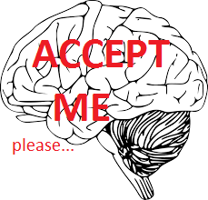 "Imperfection of mental state begs: ""Accept me!"""