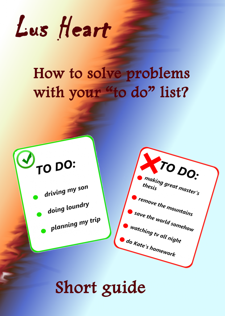 How to solve problems with your to do list - ebook