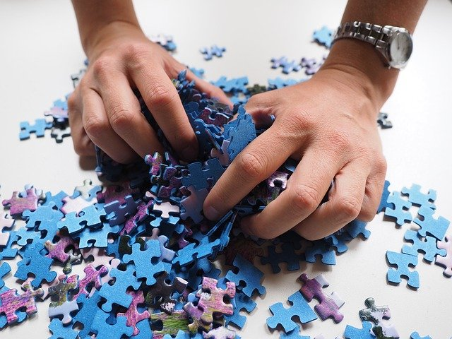 Practice patience with puzzles